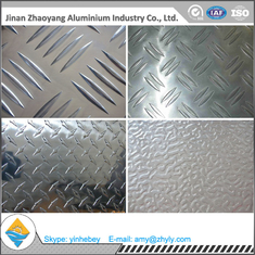 2mm Anti Slip Embossed Aluminium Lembar