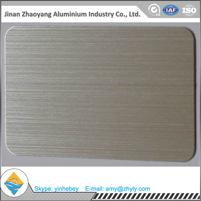 6063 T6 ukuran marah 30mmX1220mmX2440mm aluminium brush sheet