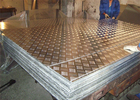 5052 Five bars Aluminum Checker Plate aluminum sheet embossed for anti-slip floor