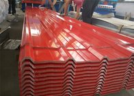 29 Gauge Aluminum Corrugated Roof Panels / Roofing Sheet Easy Installation