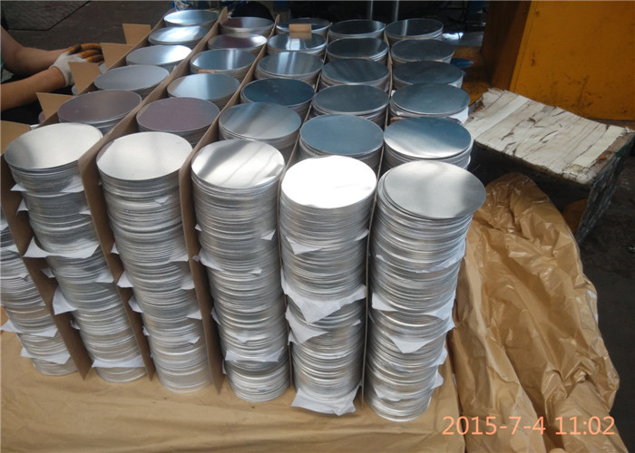 Bright Surface Round Aluminum Circle Sheet Non - Stick For Utensils 1100 3003