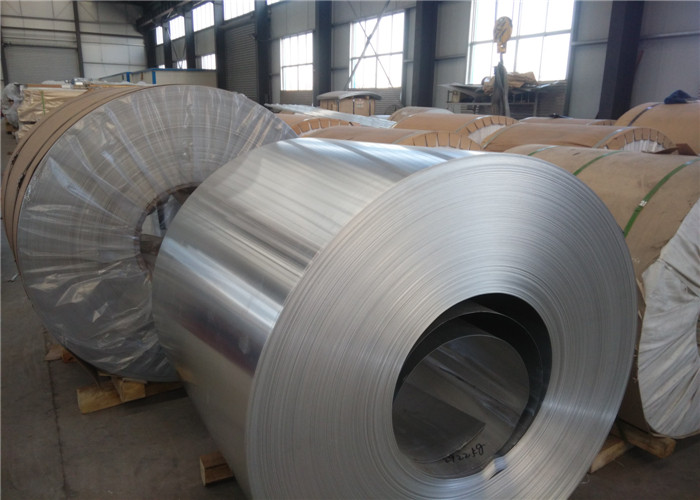 Hardness 60 HB Flat Aluminum Sheet Roll With High Tensile Strength 190 Mpa