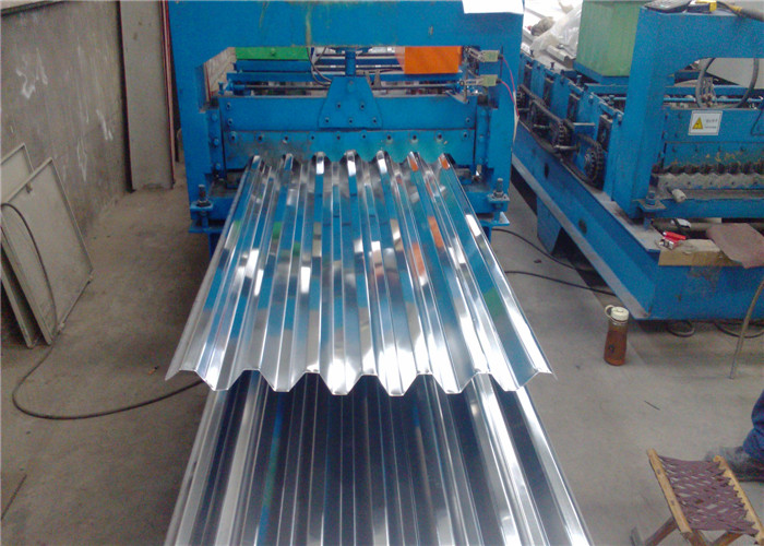 Mill Finish 0.9mm Corrugated Aluminum Sheet For Building Material 1050 3003 5052