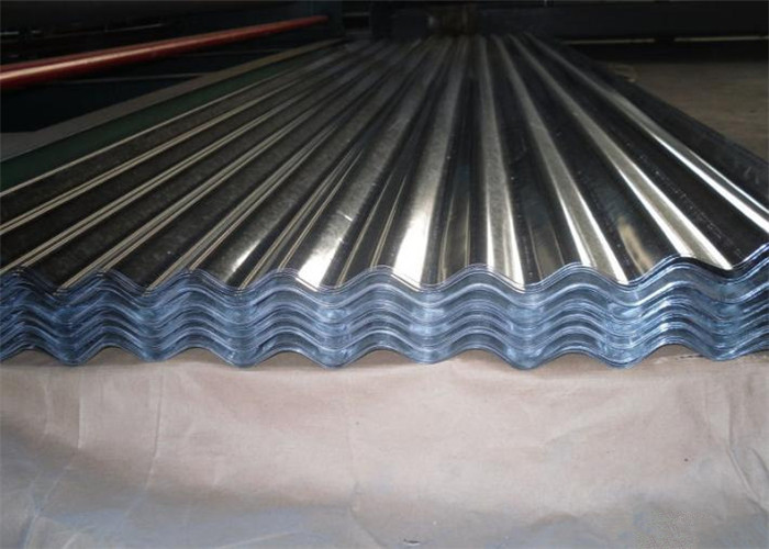 Light Weight Corrugated Aluminum Roofing Sheet Long Span Aluminium Roof Panels