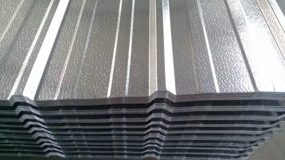 Building Wall Panel Corrugated Aluminium Sheet With 750 - 1150mm Width H14 H24 H18