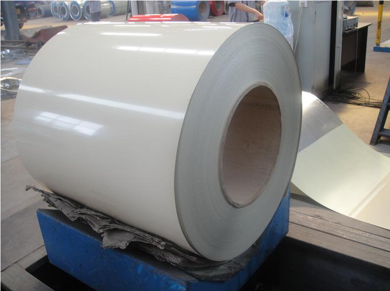 0 . 7MM RAL9001 white  Color Coated Aluminum Coil with PE applications