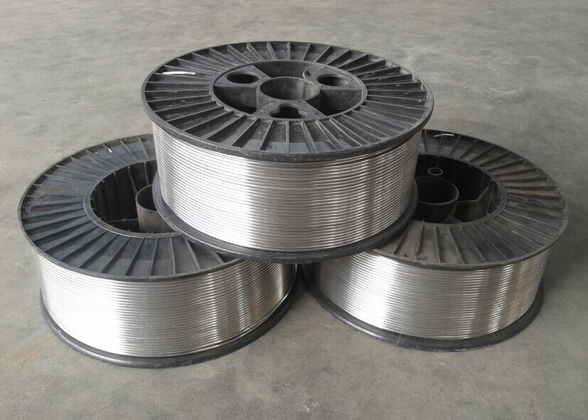 ER4043 / ER5056 Filler Alloy Aluminium Welding Wire For General Aluminum Works