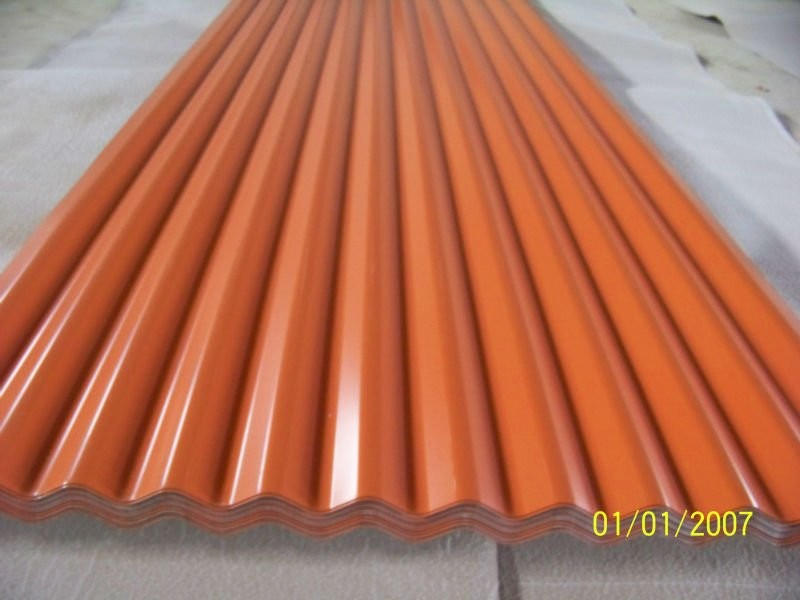 Lightweight Colored Aluminum Roofing Sheet Corrugated 1050 / 1060 / 1100 / 3003