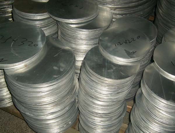 No Scratch 25mm Aluminum Circle 18g Aluminum Wafer For General Metal Works