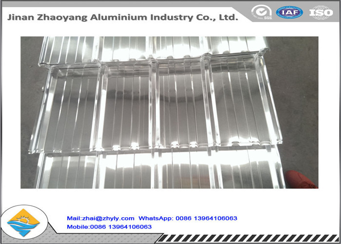 No Pollution Fireproof Corrugated Aluminum Sheet Excellent UV Resistance