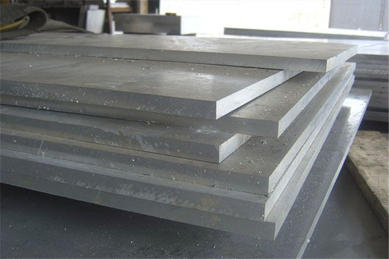 Ketebalan 8mm 6061 Aluminium Sheet, Mill Finish Plat Aluminium 6061 Temper T6