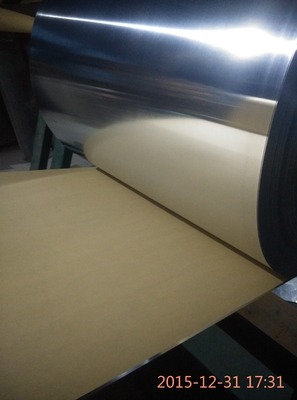 Anti Korosi Rolled Aluminium Sheet / Coil Covered Kraft Paper Untuk Packaging
