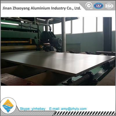 1220 Mm X 2440 Mm Mill Aluminium Alloy Sheet / 2.0mm 5052 Plat Aluminium