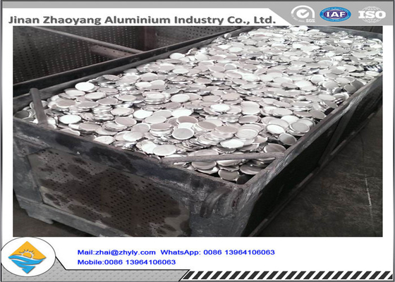 3003 3004 3105 Aluminium Disk cookwares / Road Tanda Membuat Aluminium Wafer