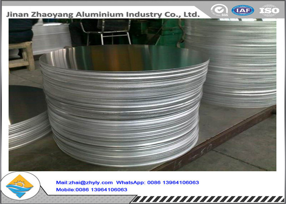 Mill Finish Aluminium Disc Circles 1050 3003 6063 Untuk Aluminium cookwares / Lighting