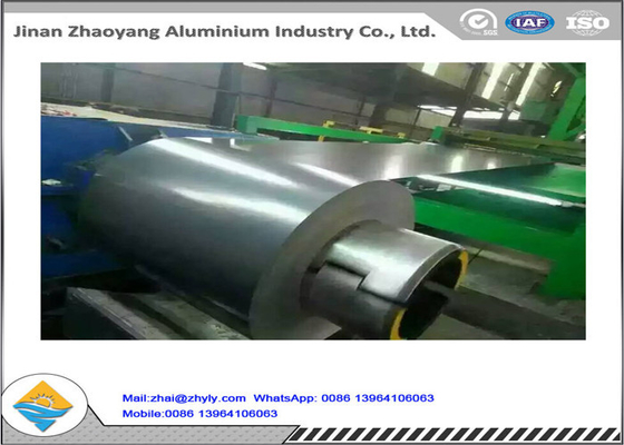 Keasaman Resistance Painted Aluminium Coil 3003 H14 Mill Finish PVC One Side